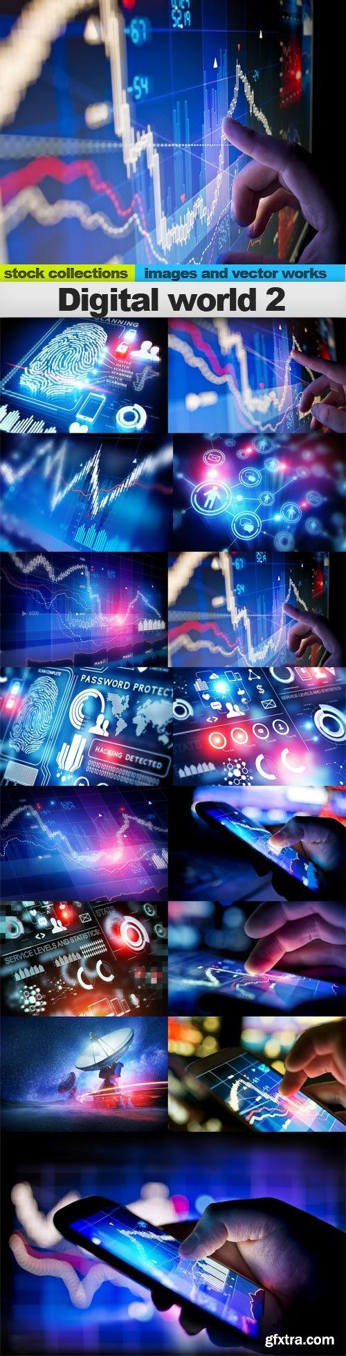 Digital world 2, 15 x UHQ JPEG