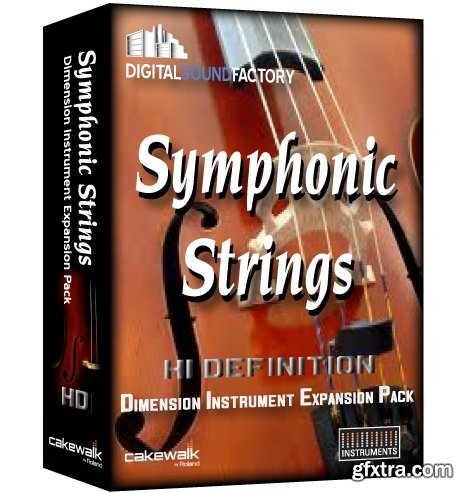 Digital Sound Factory Symphonic String HD for Dimension Pro v1.0-R2R