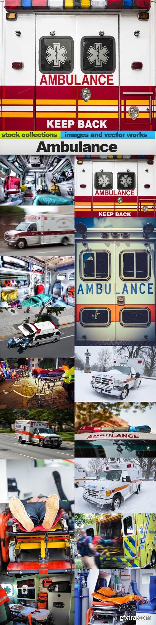 Ambulance, 15 x UHQ JPEG