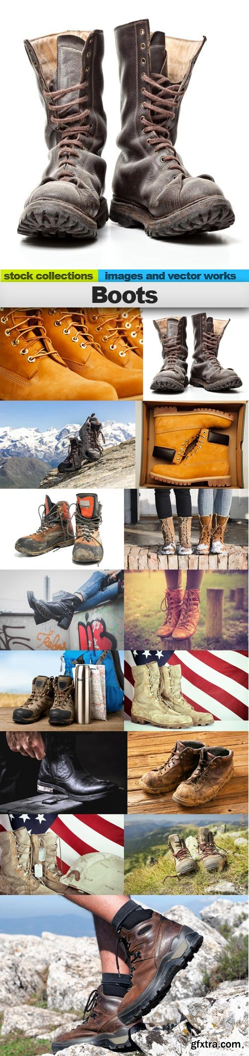 Boots, 15 x UHQ JPEG