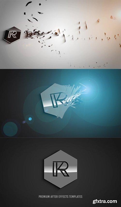 RocketStock - Alluvion - Stylish 3D Logo Reveal