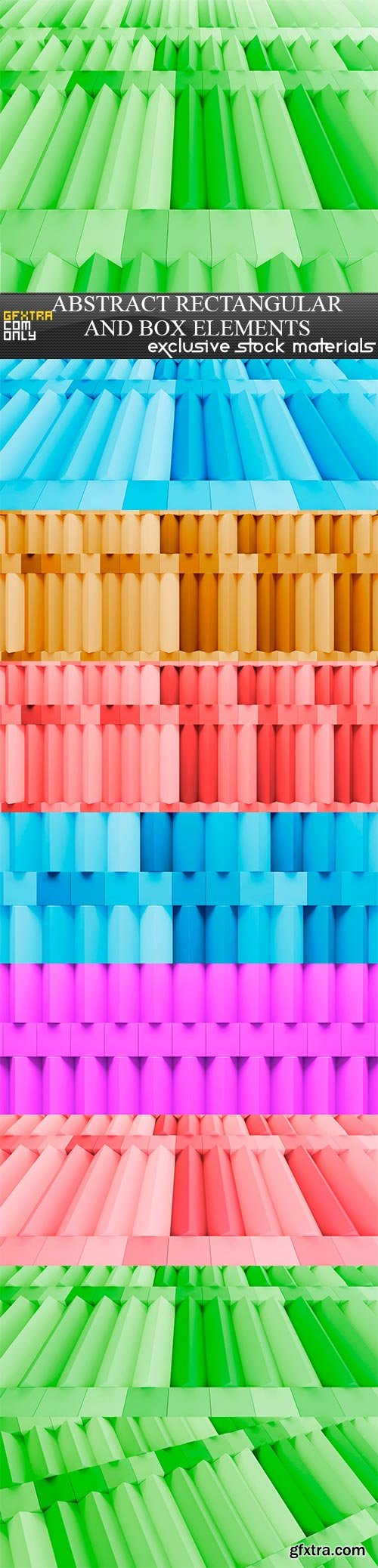 abstract rectangular and box elements background with, 8 x UHQ JPEG