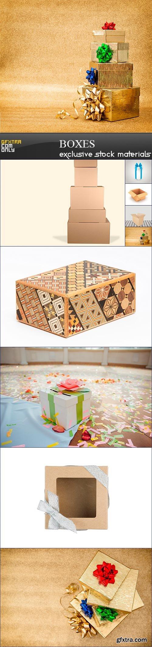 Boxes, 9 x UHQ JPEG