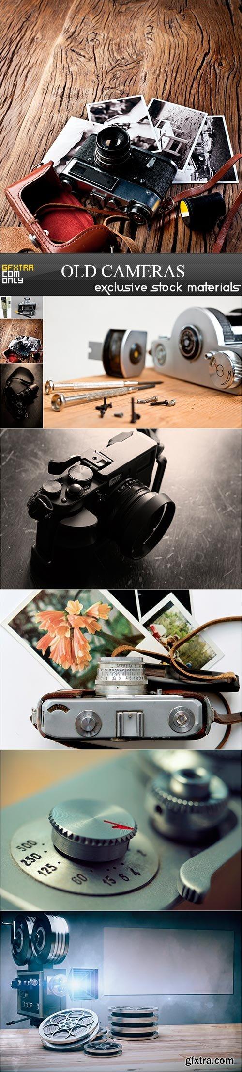 Old cameras, 9 x UHQ JPEG
