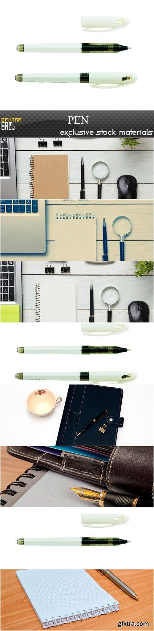 Pen, 8 x UHQ JPEG