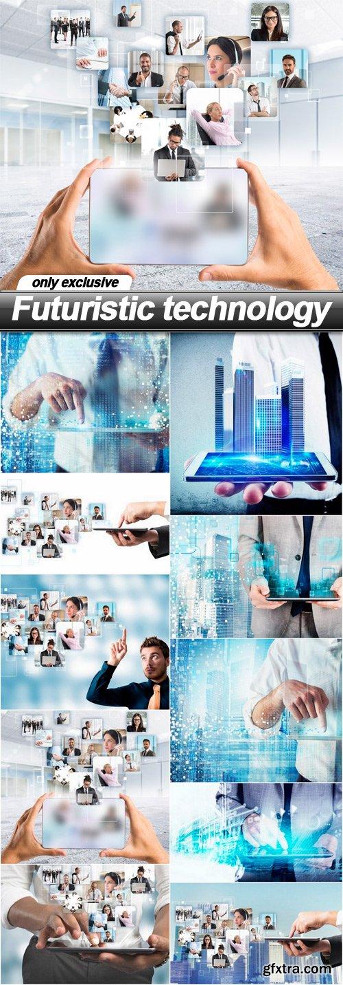 Futuristic technology - 10 UHQ JPEG