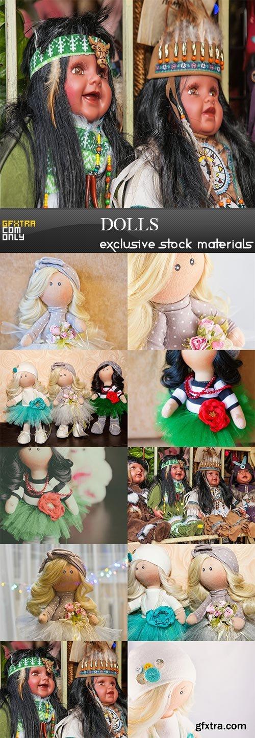 Dolls, 10  x  UHQ JPEG