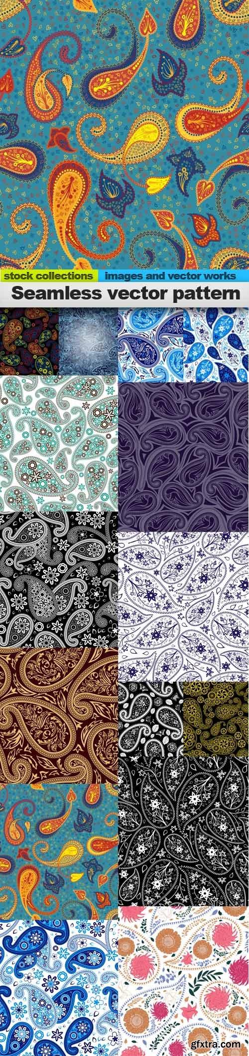 Seamless vector pattern, 15 x EPS