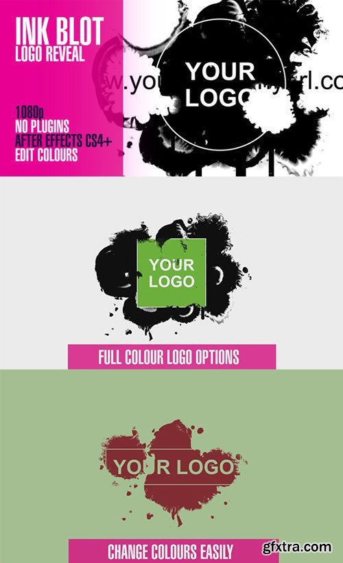 Videohive - 3129598 - Ink Blot Logo Reveal
