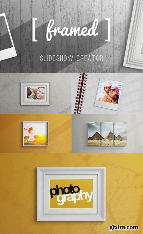 Videohive - 8795806 - Framed Slideshow Creator