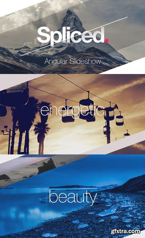Videohive - 14685274 - Spliced Angular Slideshow