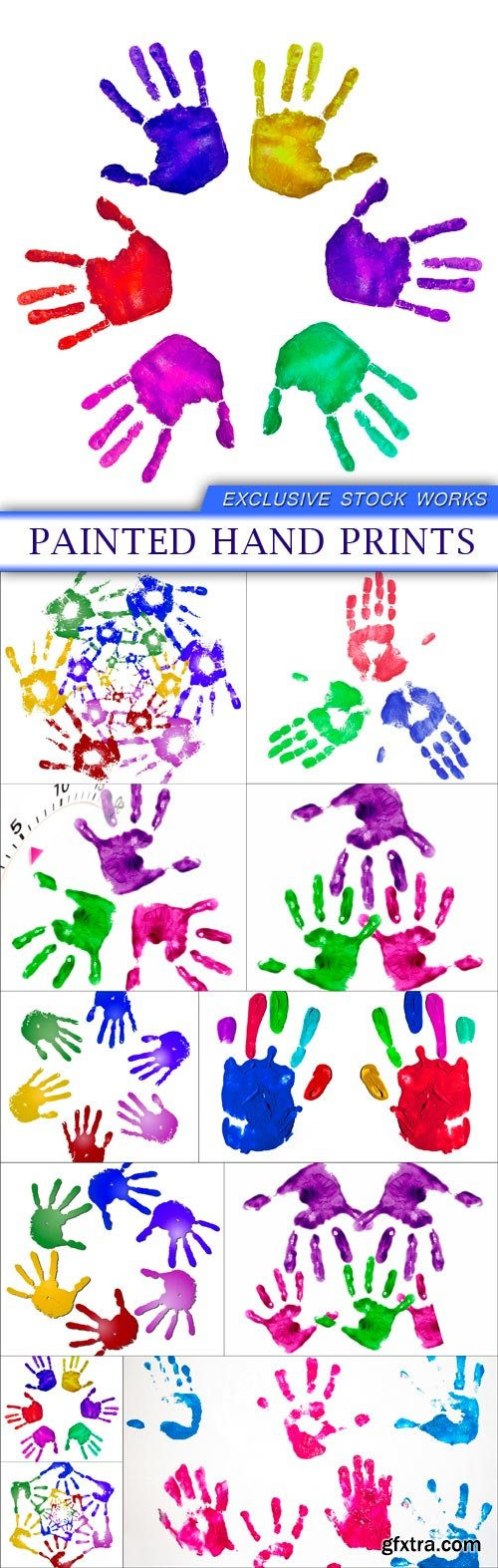 painted hand prints 11X JPEG
