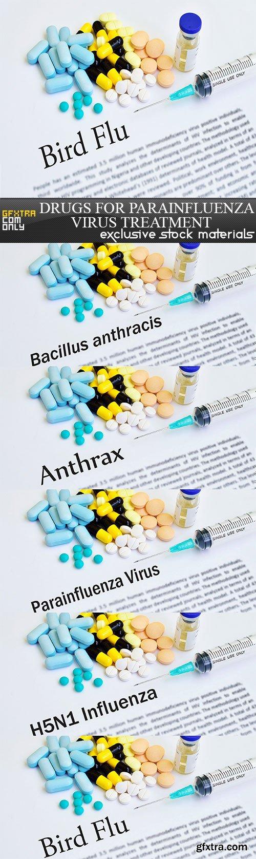 Drugs for Parainfluenza virus treatment, 5 x UHQ JPEG