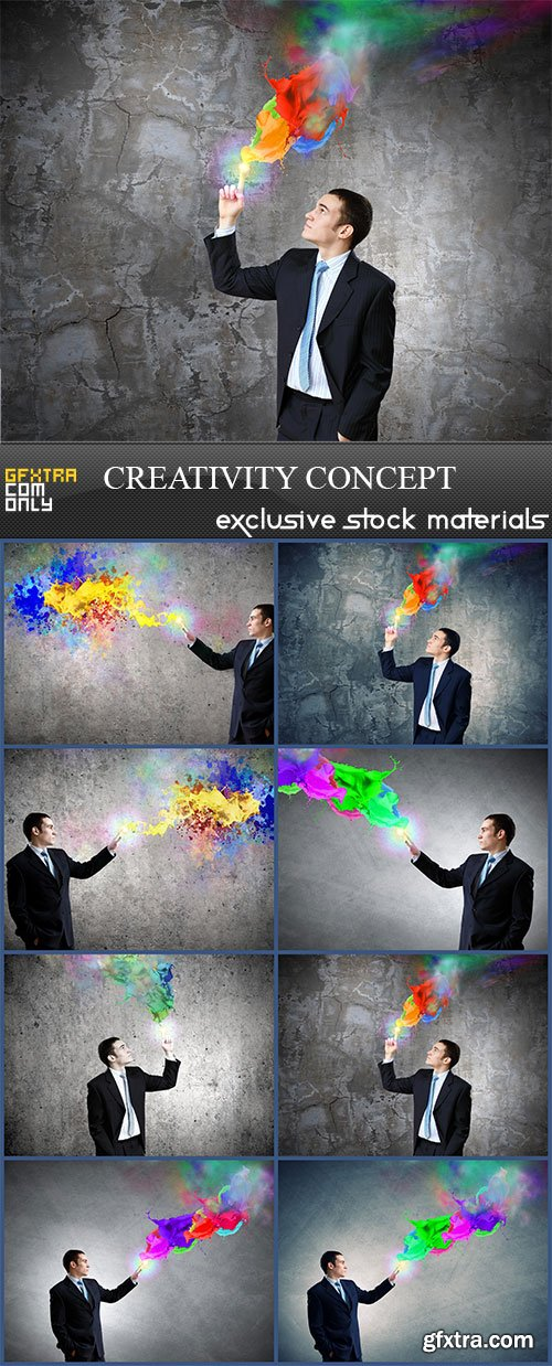 Creativity concept, 8  x  UHQ JPEG