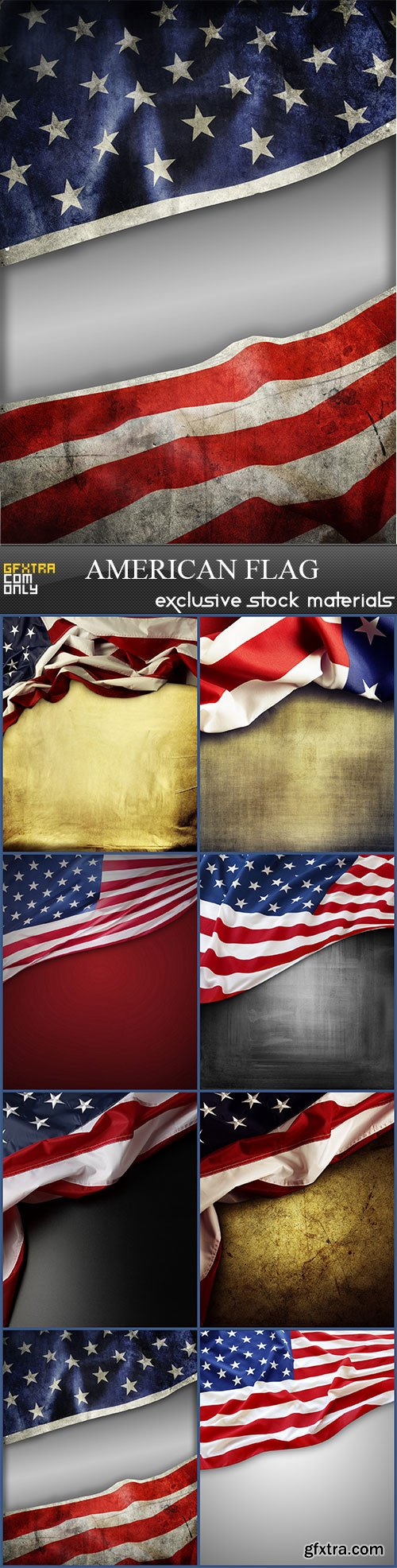 American flag, 8  x  UHQ JPEG