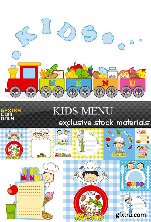 Kids Menu - 12 EPS