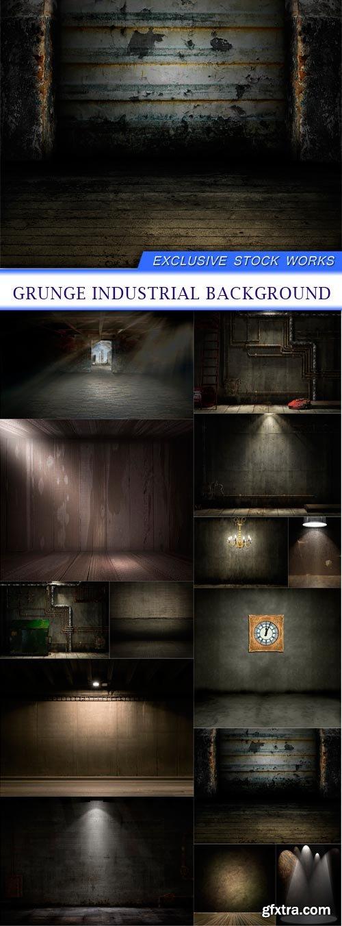 grunge industrial background 14X JPEG