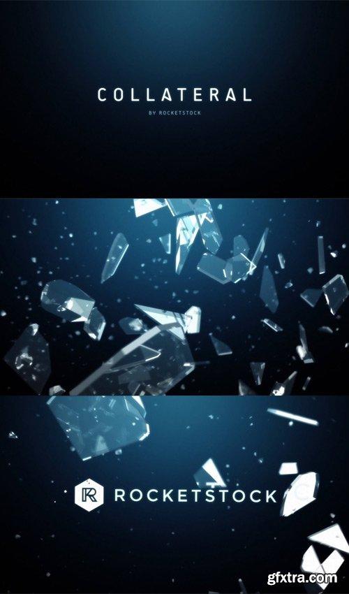 RocketStock - Collateral - 3D Glass Logo Reveal