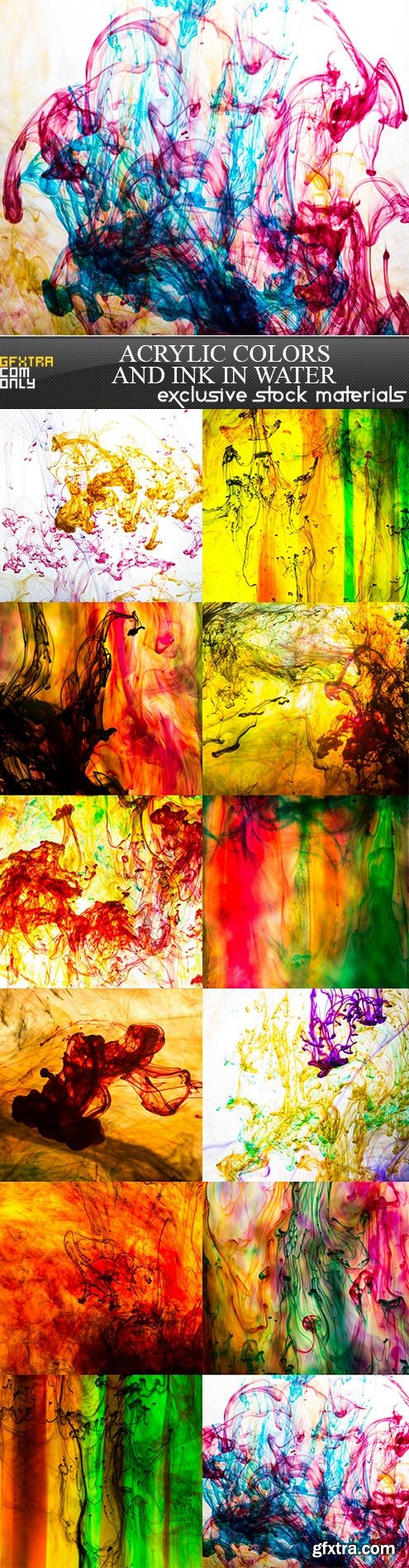 Acrylic colors and ink in water, 12  x  UHQ JPEG