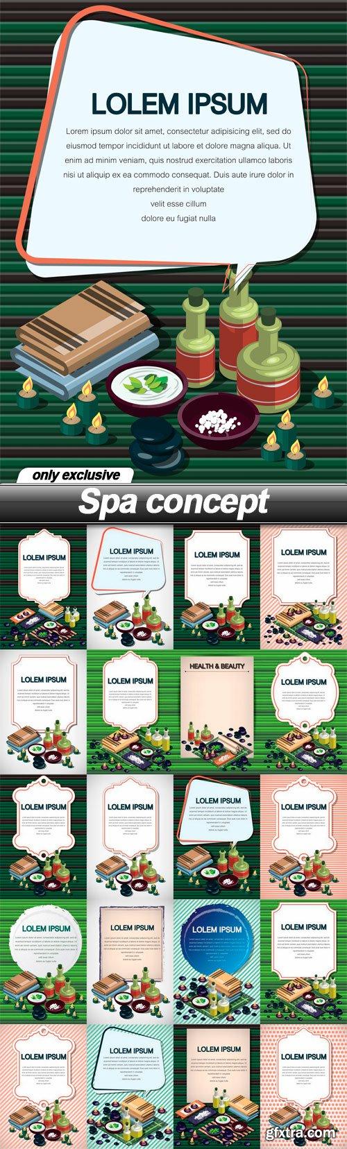 Spa concept - 20 EPS