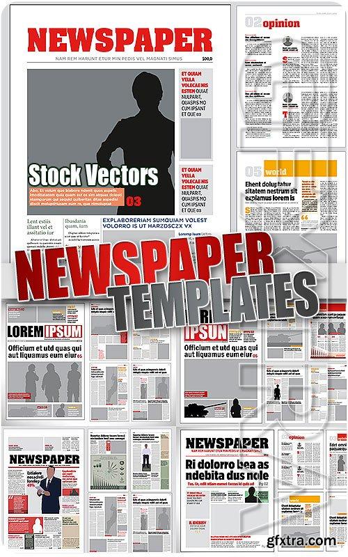 Newspaper template stock vectors vector photoshop psdafter newspaper template stock vectors vector photoshop psdafter effects tutorials template 3d maxwellsz