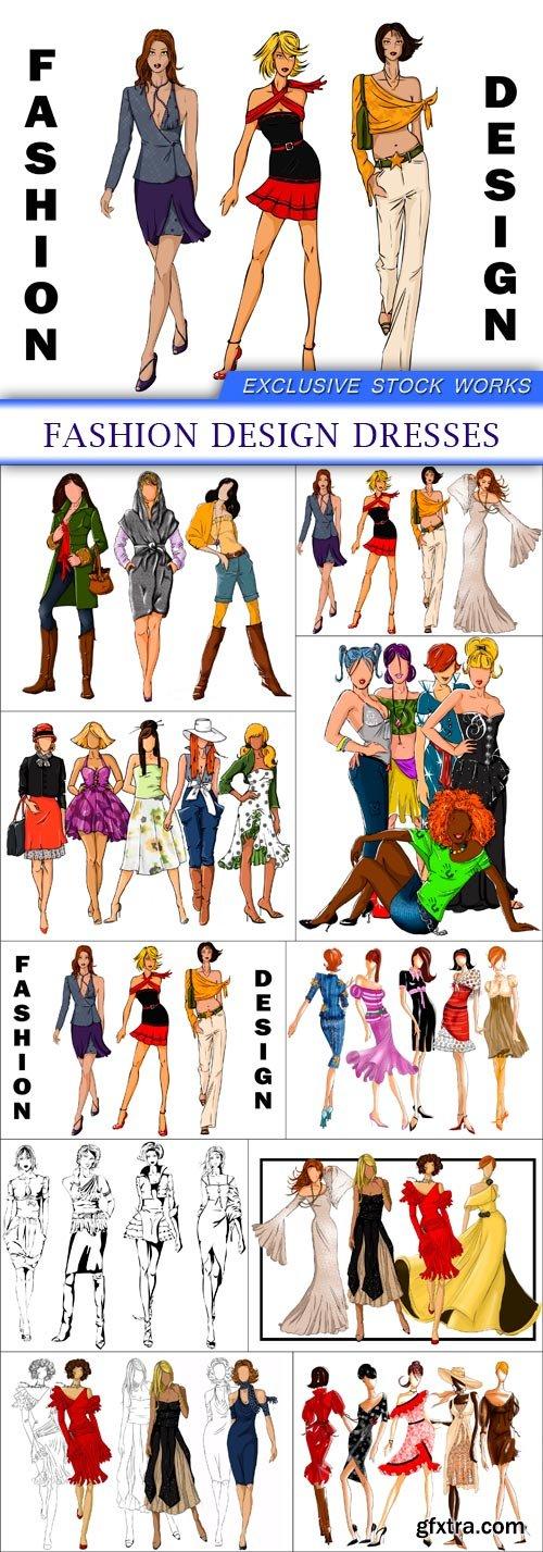 fashion design dresses 10X JPEG