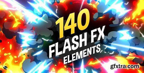 VideoHive 140 Flash FX Elements 11266469 V2