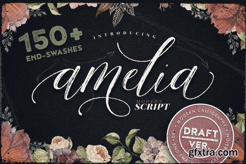 Creativemarket Amelia Script - Draft Version 544355
