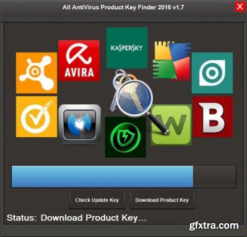All AntiVirus Product Key Finder 2016 v1.10.0