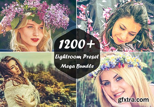 1200+ Lightroom Presets Mega Bundle