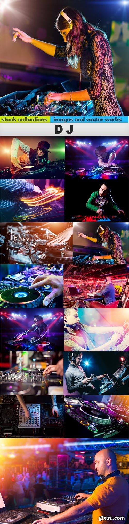 DJ, 15 x UHQ JPEG