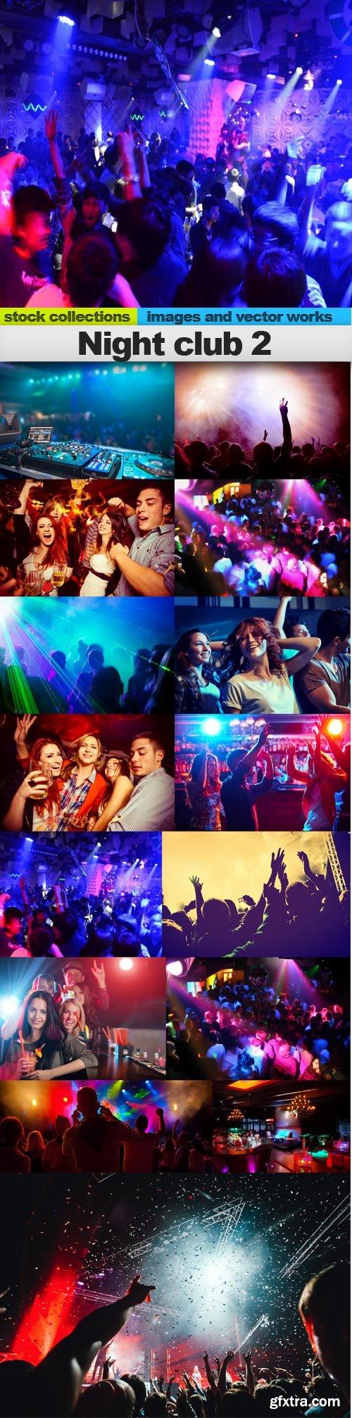 Night club 2, 15 x UHQ JPEG