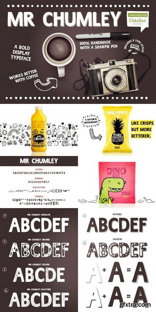 CM - Mr Chumley font 560188