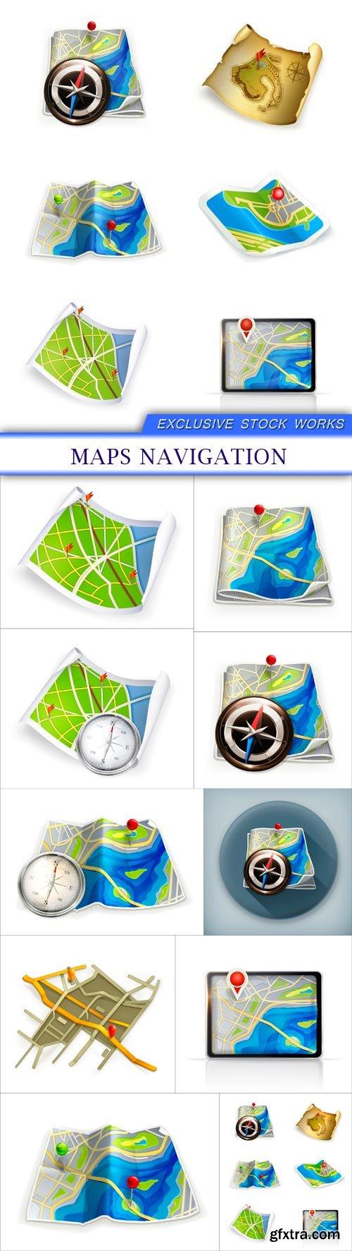 MAPS NAVIGATION 10X EPS