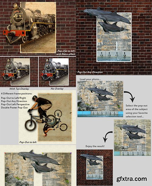 Graphicriver Wall Poster Pop-Out Creator 14507773