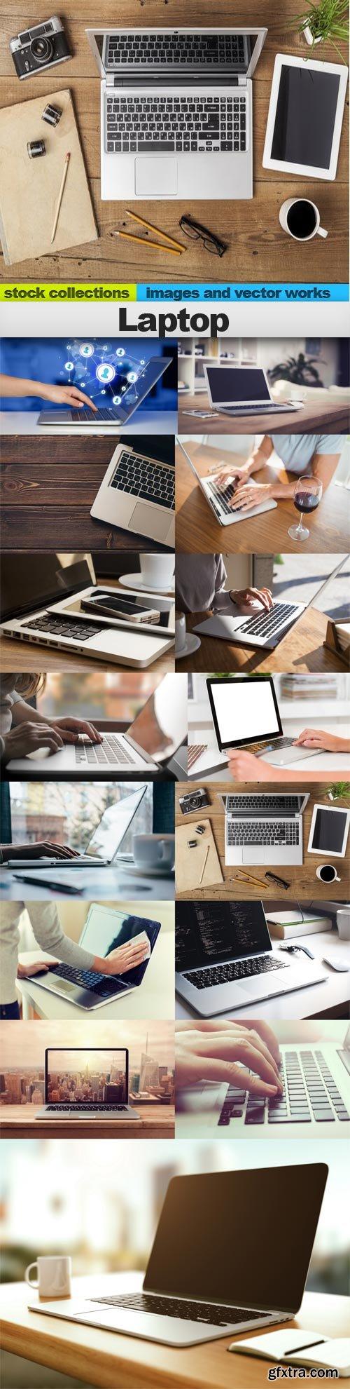 Laptop, 15 x UHQ JPEG