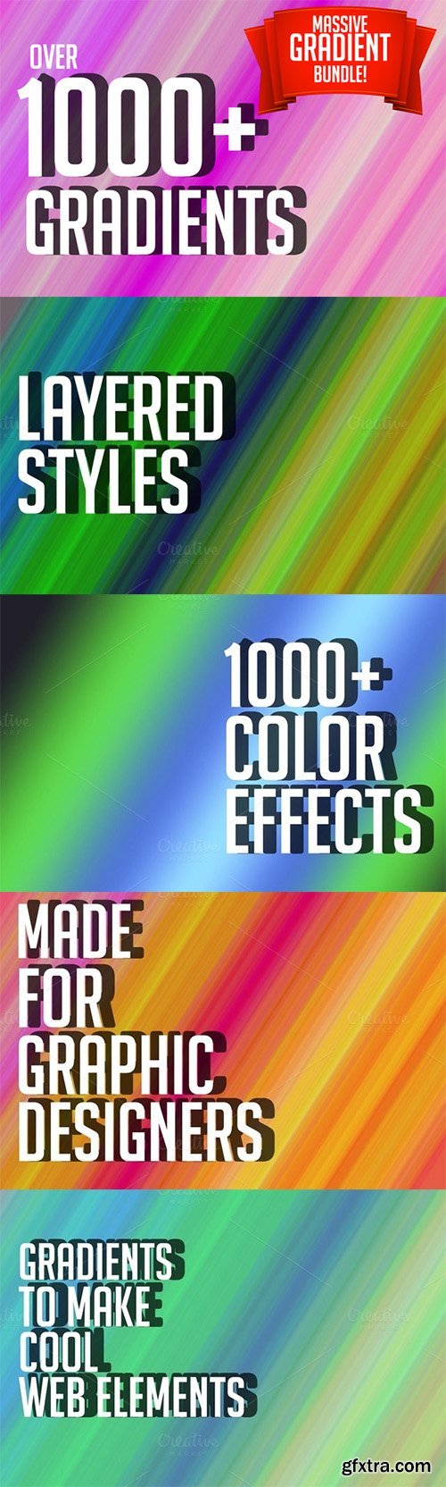 1000+ Free(116) Gradients Bundle! - CM 300825