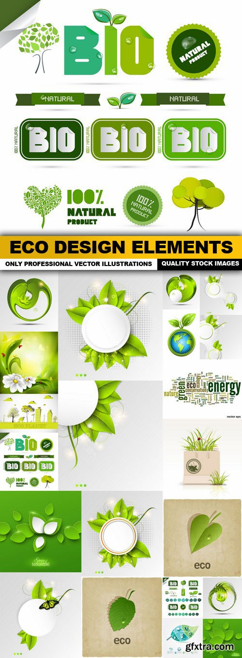 ECO Design Elements - 20 Vector