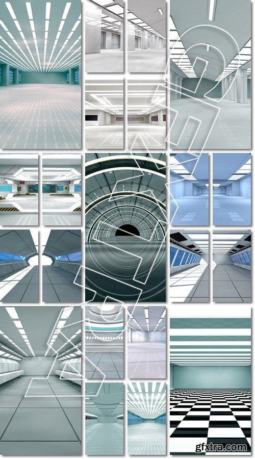Beautiful, fashionable, modern and stylish interiord and arhitectura - Stock photo