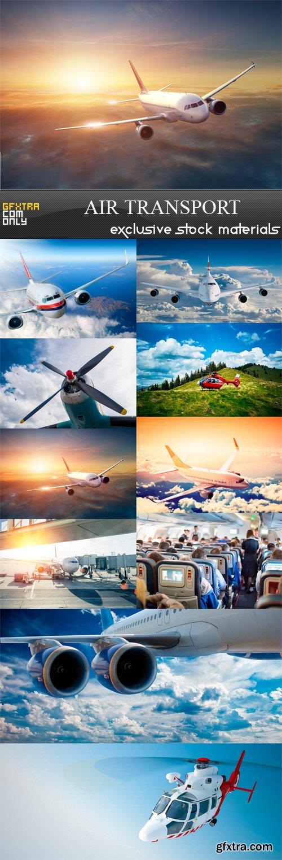 Air Transport - 10 x JPEGs