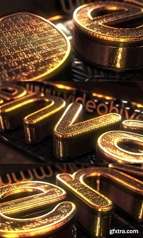 Videohive - Gold Treasure Logo - 15024546