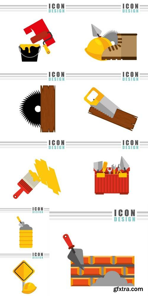 Construction Icon Design