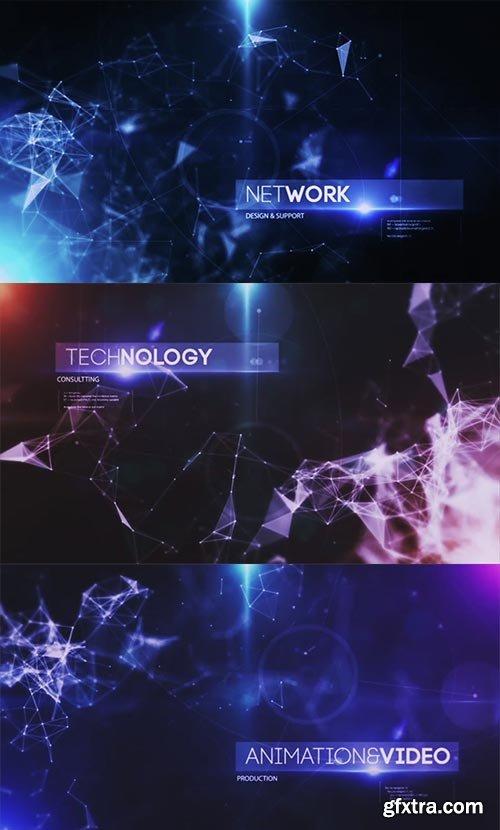 Videohive - Plexus Inspire Corporate Tech Intro - 15058089