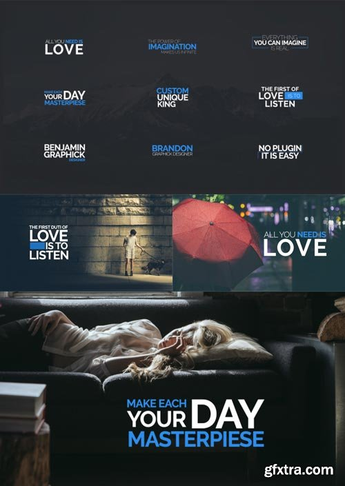 Videohive - 45 Modern Original Titles and Lower Thirds - 15095762
