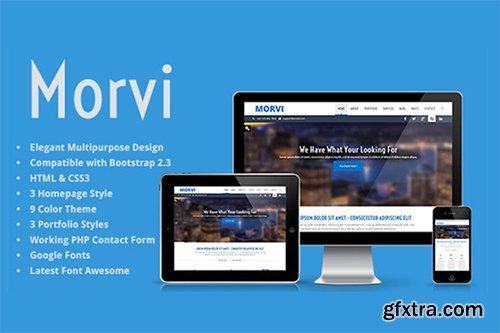 ThemeForest - Morvi - Bootstrap HTML5 Portfolio 6680205