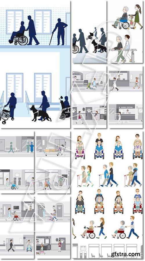 Medical center - Vector