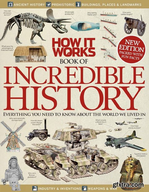 Book of Incredible History Volume 1 Revised Edition