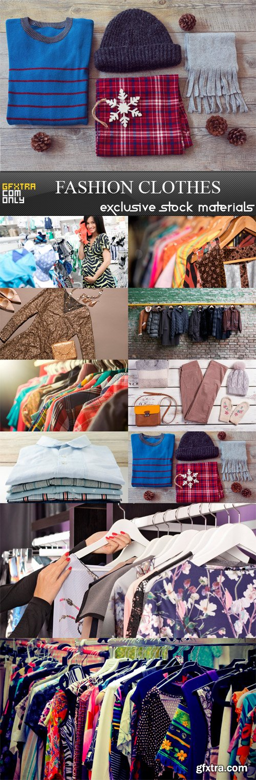 Fashion Clothes - 10 x JPEGs