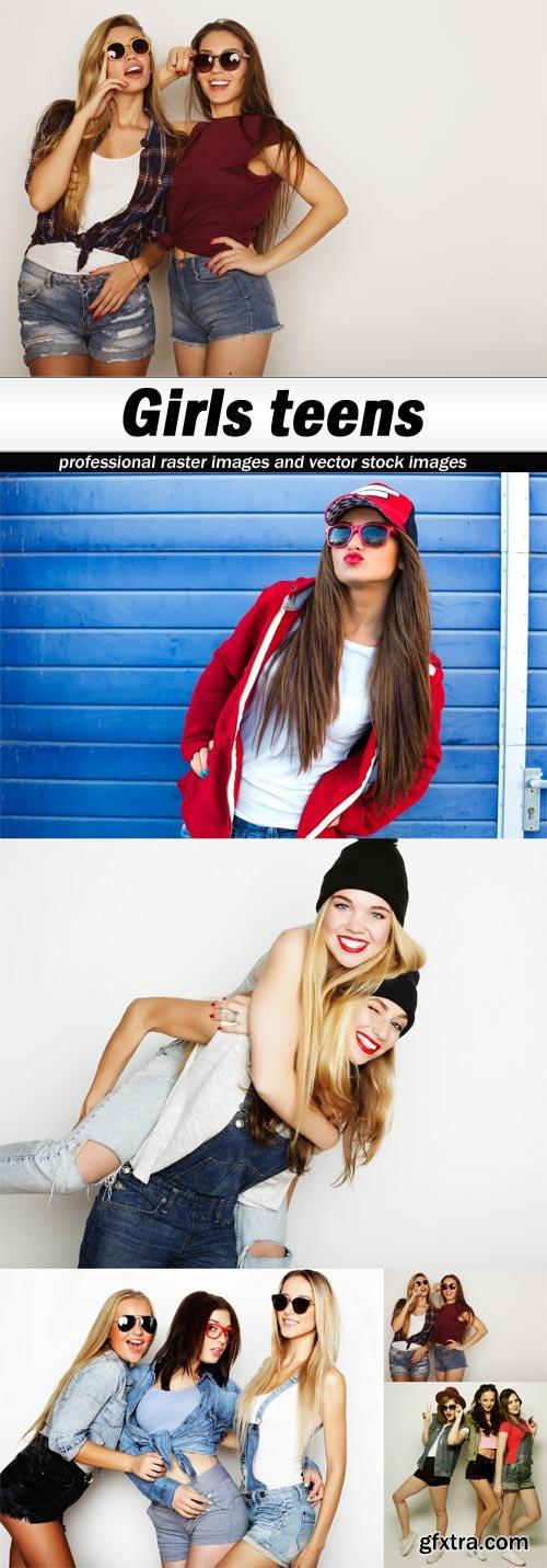 Girls teens