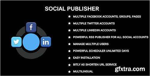 CodeCanyon - Social Publisher v2.0 - Facebook, Twitter & LinkedIn Multiple Account - 14574501